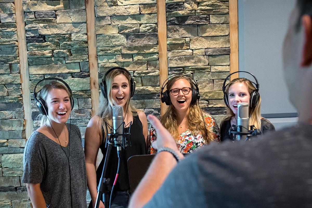 Recording A Cappella Coaching